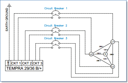Wiring Schematic 3 Phase Circuit - Wiring Diagram Secrets on