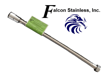 Falcon Ptc34jg 18 Flexible Stainless Steel Connectors W