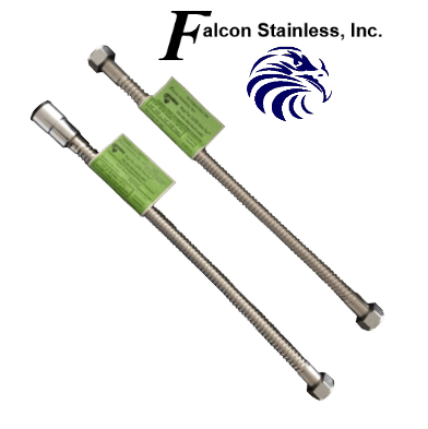 Falcon Flexible Stainless Steel Connectors For Water Heaters
