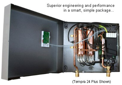 Internal View - Compare the quality of a Stieble Eltron Tempra water heater